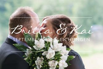 Britta & Kai | Hochzeit in Leichlingen