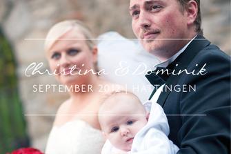 Christina & Dominik | Hochzeit in Hattingen