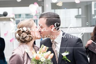 Annika & Jörg | Hochzeit in Königswinter