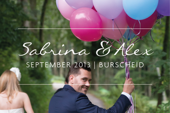 Sabrina & Alex | Hochzeit in Burscheid