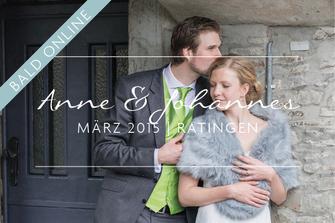 Anne & Johannes | Hochzeit in Ratingen