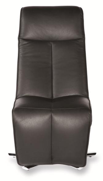 Relaxsessel Strässle Pur Relaxer Recliner Leder schwarz