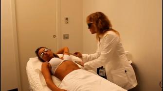 Metodo Epilvip epilazione laser, eliminare gel residuo