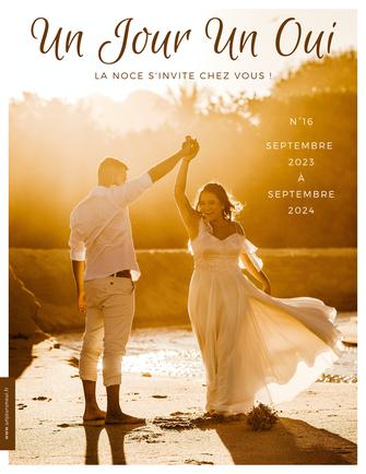 Magazine de mariage Un Jour Un Oui n°15 Octobre 2021