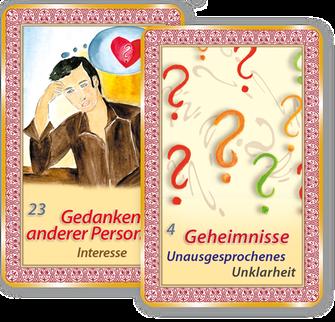 Kartenlegen lernen mit Orakelkarten von Mathera