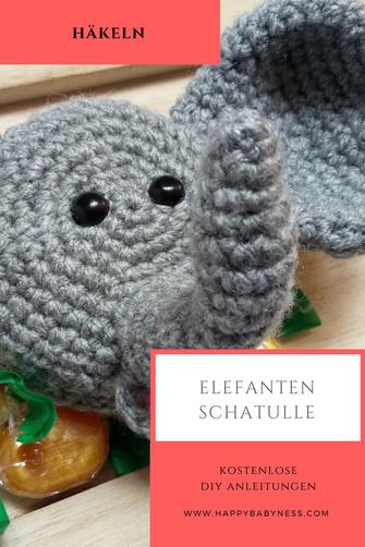 Elefant Häkelanleitung - Häkelerfahrungen sollten vorhanden sein ... | 502x335