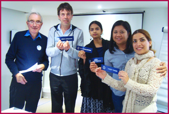 Toastmasters Nice Winners/Gagnants