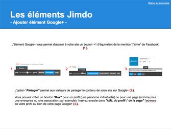 Guide Jimdo - Info-bulles