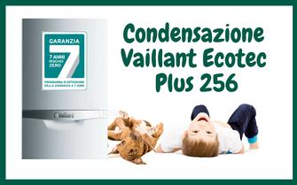 PROMOZIONE CALDAIA VAILLANT ECOTEC PLUS 256 A CONDENSAZIONE IN OFFERTA A TORINO INSTALLAZIONE  E SOSTITUZIONE  COMPRESA NEL PREZZO A 2299,00 EURO
