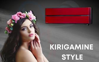 offerta vendita e installazione climatizzatori mitsubishi electric kirigamine style red rosso inverter con pompa di calore 7000 btu con iva e sopralluogo inclusi nel prezzo a torino e provincia