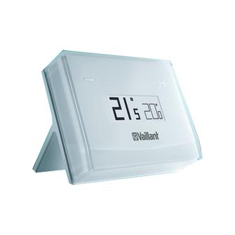centralina vsmart vaillant non installata a parete per controllo riscaldamento e acqua calda compatibile con caldaie  vaillant