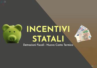 incentivi statali per recupro denaro da un acquisto con possibilità di detrazioni fiscali del 50 e 65 per cento sul totale pagato