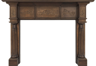 Lexington Wood Fireplace Mantel