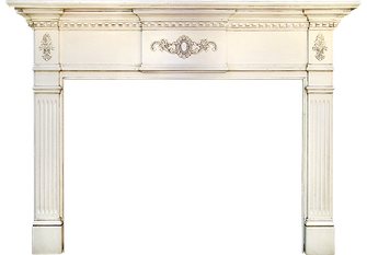 Rochester's Somerset Wood Fireplace Mantel