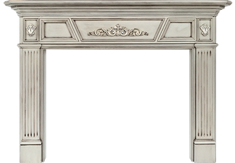 Charlotte's Sheridan Wood Fireplace Mantel