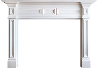 Blaine Wood Fireplace Mantel