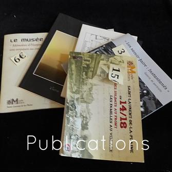 Publications, Musée des Métiers