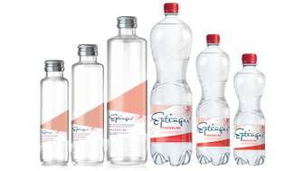 Eptinger Mineralwasser Sortiment prickeln