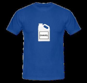 """""""CHAVEL"""" TSHIRT ELECTRIC BLUE 49€"""