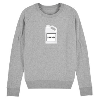 """CHAVEL"" SWEATER GREY 69€"