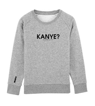 """KANYE?"" SWEATER 49€"