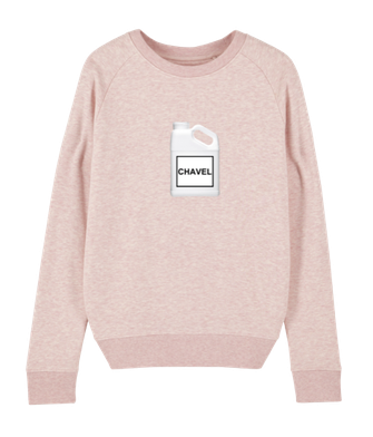 """CHAVEL"" SWEATER PINK 69€"
