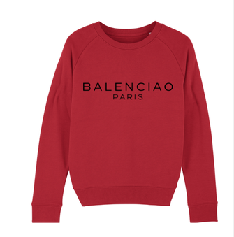 """BALENCIAO"" SWEATER RED 10€"