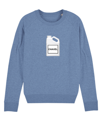 """""""CHAVEL"""" SWEATER BLUE 69€"""