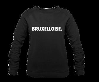 """""""BRUXELLOISE NEW CITY"""" SWEATER 65€ (GRIJS EN ZWART)"""