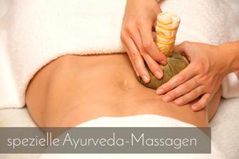 spezielle Ayurveda-Massagen