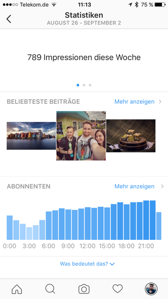 Instagram Business Profil Was Bringt Das Profi Profil