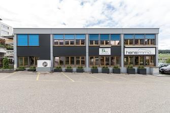 Starkl Vieli Architekten Neubau Gewerbehalle Immensee
