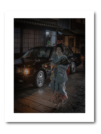 Print, Fine Art Print, Photo Print, Kyoto, Geisha, Photography