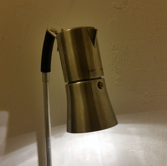 David Bergmann Lampen Lampe Licht LED upcycling Stahl