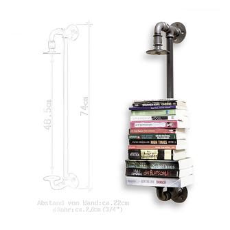 Rohrbude modernes Design aus Rohren angefertigt