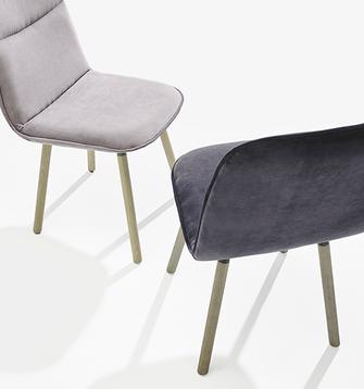 Köln mobliberica silla de comedor moderna tapizada