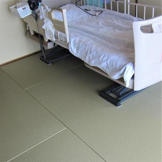 この床が「リフォーム畳🄬」です。