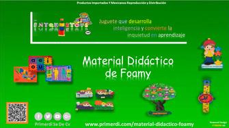 material didactico de foamy