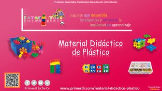 material didactico de plastico