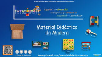 material didactico de madera