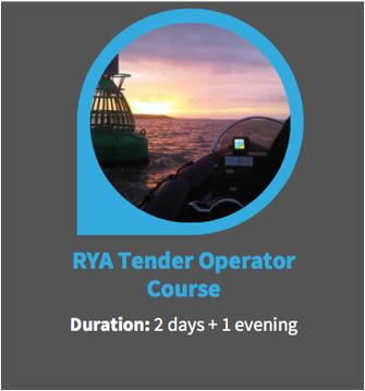 rya tender operator course yacht crew training