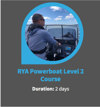 rya powerboat level 2 course yacht crew training
