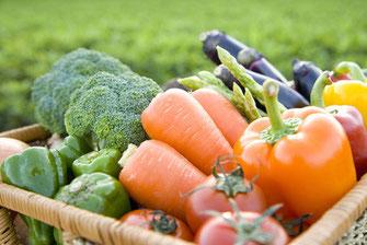 旬の野菜は甘さが違う