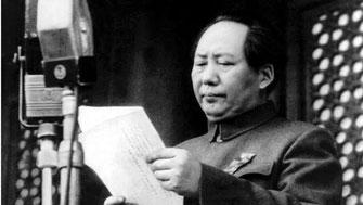 Mao Zedong var formand for Kinas Kommunistiske Parti 1943 – 1976, formand for den centrale folkeregering 1949-1954 og leder af Folkerepublikken Kina 1954 – 1959