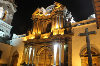 Quito by night...