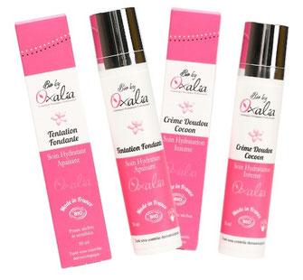 cème tentation fondante oxalia et cème doudou cocoon oxalia, top 10 des soins visage bios spécial peaux déshydratées/sèches, just'pour soi