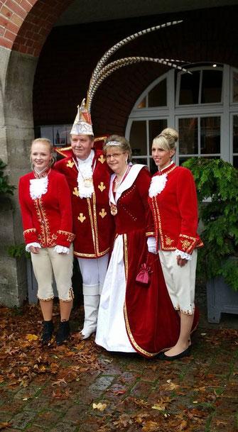 Das Kieler Prinzenpaar 2015/2016