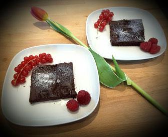 Vegane Brownies: Bild Andrea Just