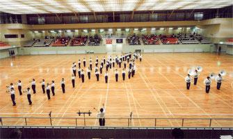 なんとうは加茂名中学校マーチングユニフォームの提案を採用頂きました。
