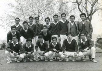 大学1年(1964年)の時、彦根城にて